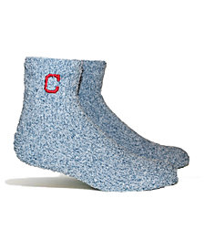 PKWY Cleveland Indians Parkway Team Fuzzy Socks
