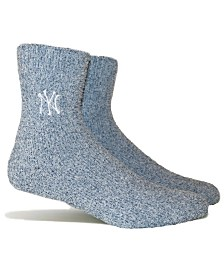 PKWY New York Yankees Parkway Team Fuzzy Socks