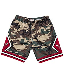 Men's Chicago Bulls Woodland Camo Swingman Shorts