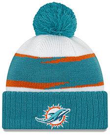 New Era Miami Dolphins Thanksgiving Pom Knit Hat