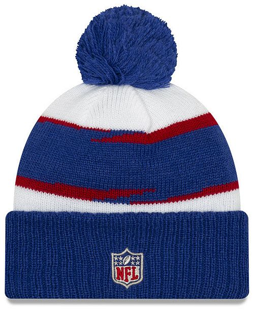 48e9be30eb7 New Era. New York Giants Thanksgiving Pom Knit Hat. Be the first to Write a  Review. main image ...