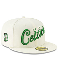 New Era Boston Celtics Jersey Script 59FIFTY-FITTED Cap
