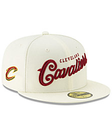 New Era Cleveland Cavaliers Jersey Script 59FIFTY-FITTED Cap