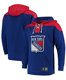 Men's New York Rangers Breakaway Lace Up Hoodie