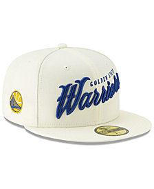 New Era Golden State Warriors Jersey Script 59FIFTY-FITTED Cap