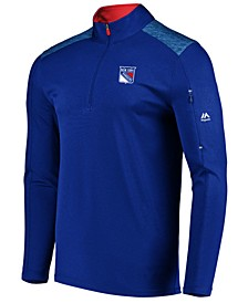 Men's New York Rangers Ultra Streak Half-Zip Pullover