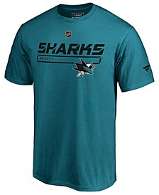 Men's San Jose Sharks Rinkside Prime T-Shirt