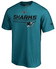 Majestic Men's San Jose Sharks Rinkside Prime T-Shirt