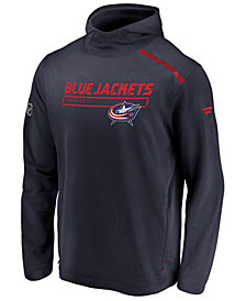 Majestic Men's Columbus Blue Jackets Rinkside Transitional Hoodie