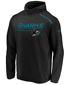 Majestic Men's San Jose Sharks Rinkside Transitional Hoodie