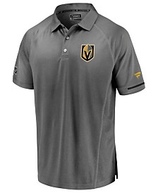 Majestic Men's Vegas Golden Knights Rinkside Pro Polo