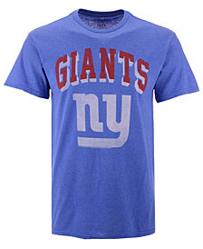Authentic NFL Apparel Men's New York Giants Shadow Arch Retro T-Shirt