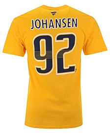 Men's Ryan Johansen Nashville Predators Authentic Stack Name & Number T-Shirt