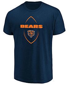 Authentic NFL Apparel Men's Chicago Bears Maximized T-Shirt