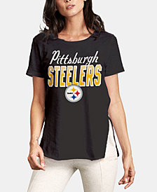 Authentic NFL Apparel Women's Pittsburgh Steelers Short Sleeve T-Shirt