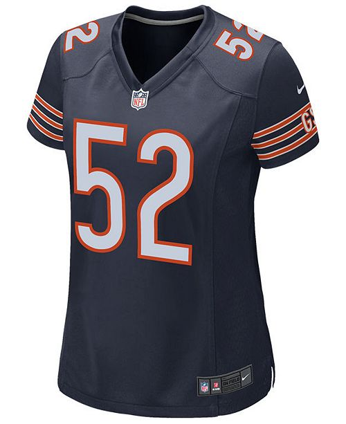 new product 6ec97 0ce18 Women's Khalil Mack Chicago Bears Game Jersey