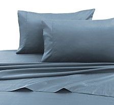 Tribeca Living 750 Thread Count Cotton Sateen Extra Deep Pocket Queen Sheet Set