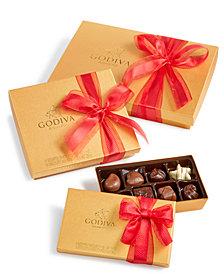 Godiva's Gold Gift Boxes