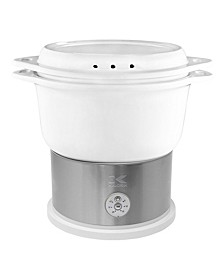 Ceramic Steamer with Steaming Rack