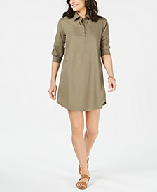 Mini Cotton Shirt Dress, Created for Macy's