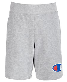 Little Boys French Terry Logo Shorts