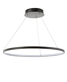 Brice Round Integrated Led Metal Chandelier