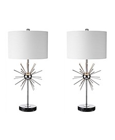 Aria Metal or Marble Led Table Lamp