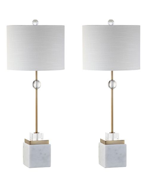 JONATHAN Y Dawson Led Table Lamp - Set Of 2