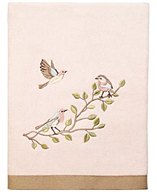 Bird Choir II Bath Towel