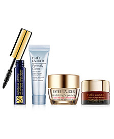 Choose your FREE 4pc Gift with $55 Estée Lauder purchase!