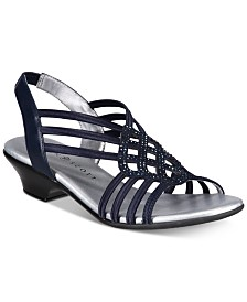 Karen Scott Elinoor Slingback Sandals, Created for Macy's