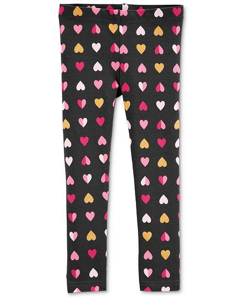 1afc4185e094d Carter's Toddler Girls Heart-Print Leggings & Reviews - Leggings ...