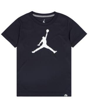 JORDAN | Jordan Big Boys Jumpman Logo-Print T-Shirt | Goxip