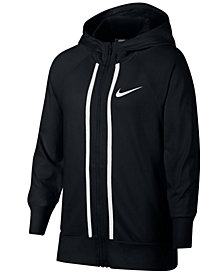 Nike Big Girls Sportswear Full-Zip Cotton Hoodie