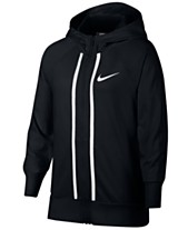 de4f632a4193 Nike Big Girls Sportswear Full-Zip Cotton Hoodie
