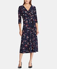Lauren Ralph Lauren Floral-Print Midi Dress