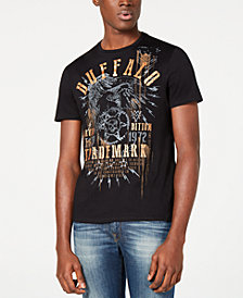 Buffalo David Bitton Men's Tyxaz Graphic T-Shirt