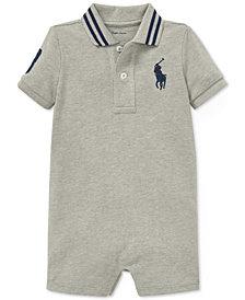Polo Ralph Lauren Baby Boys Cotton Mesh Polo Shortall
