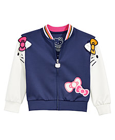 Hello Kitty Little Girls Colorblocked Jacket