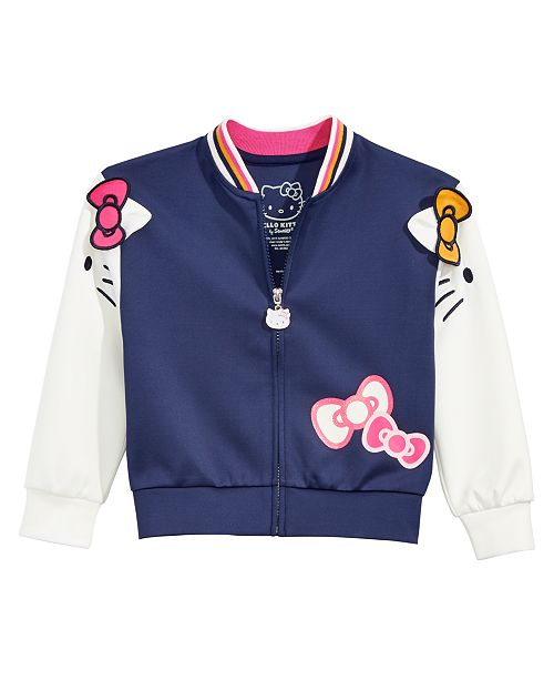 eca93ae57 Hello Kitty Little Girls Colorblocked Jacket & Reviews - Coats ...