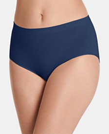 Jockey Women's Seamfree Breathe Brief Underwear, also available in extended sizes 1881