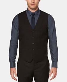 Perry Ellis Men's Solid Vest