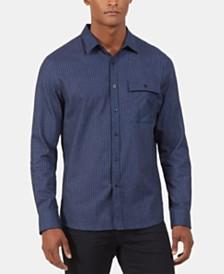 Kenneth Cole New York Men's Regular-Fit Check Shirt Jacket
