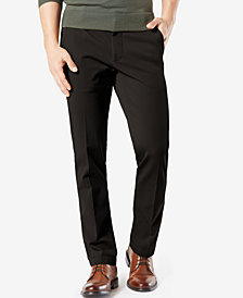 Dockers Men's Workday Straight Fit Smart 360 FLEX Khaki Stretch Pants D3