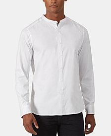 Kenneth Cole New York Men's Regular-Fit Stretch Diamond Dobby Shirt
