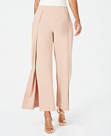 Thalia Sodi Studded Split-Leg Pants, Created for Macy's