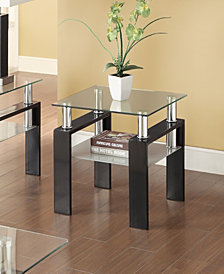 Nicole Contemporary End Table