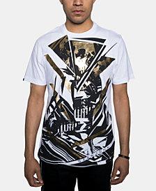 Sean John Men's Foil Skull Graphic T-Shirt