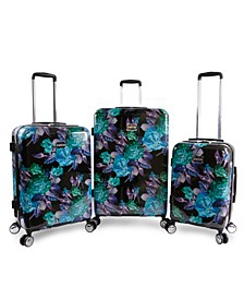 Rosette 3-Piece Luggage Set