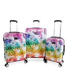 Bebe Megan 3-Piece Luggage Set